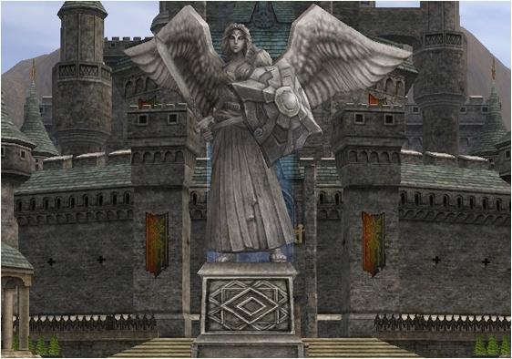 闘争の女神像